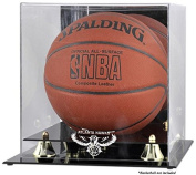 Mounted Memories Atlanta Hawks Golden Classic Team Logo Basketball Display Case