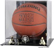 Mounted Memories Los Angeles Clippers Golden Classic Team Logo Basketball Display Case