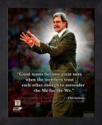 New York Knicks Phil Jackson 11x14 Framed Pro Quote Photo