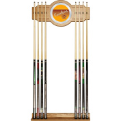 NBA Cleveland Cavaliers Cue Rack with Mirror, One Size, Brown