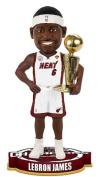 LeBron James Miami Heat Bobblehead 2013 NBA Champs Trophy Bobble Head