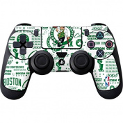 NBA Boston Celtics PS4 DualShock4 Controller Skin - Boston Celtics Historic Blast Vinyl Decal Skin For Your PS4 DualShock4 Controller