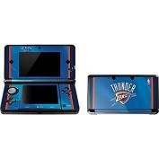 NBA Oklahoma City Thunder 3DS Skin - Oklahoma City Thunder Blue Jersey Vinyl Decal Skin For Your 3DS