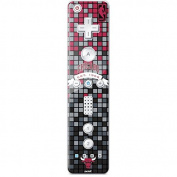 NBA Chicago Bulls Wii Remote Controller Skin - Chicago Bulls Digi Vinyl Decal Skin For Your Wii Remote Controller