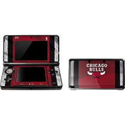 NBA Chicago Bulls 3DS Skin - Chicago Bulls Away Jersey Vinyl Decal Skin For Your 3DS