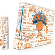 NBA New York Knicks Wii (Includes 1 Controller) Skin - NY Knicks Historic Blast Vinyl Decal Skin For Your Wii