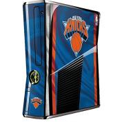 NBA New York Knicks Xbox 360 Slim (2010) Skin - New York Knicks Away Jersey Vinyl Decal Skin For Your Xbox 360 Slim