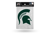 Licenced NCAA Michigan State Spartans 13cm x 15cm Inches Die Cut Static Cling Team Logo