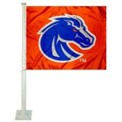 Boise State Broncos Orange Car Flag