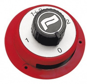 Dual Battery Selector Isolator Switch - For 1 or 2 Battery Installations