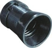 portalamparas T/Fair Black E-27 4 A