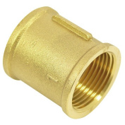 Connector with internal thread 1cm brass