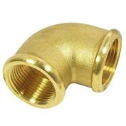 Elbow, 90° with internal thread 1.3cm brass