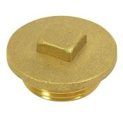 End cap with external thread 2.5cm brass