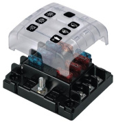 BEP Marine 6 Position Fuse Holder/Box