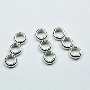 3pcs 925 Sterling silver Jewellery findings 3-strand Spacer