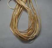 MEDIUM GOLD - 380cm French Metal Wire Gimp Coil Bullion Purl - Smooth Regular - 3.80 Metres