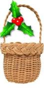 Christmas Ornament Basket Weaving Kit