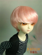 Jusuns D28053 1/8( 13-15CM) Enfant Baby short BJD wig 5-6 inch Synthetc mohair Ginger colour doll wigs Lati yellow doll accessories