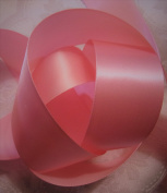 3.8cm WIDESWISS PINK RIBBON - 10 YARDS FOR HOLIDAY BOWS AND GIFT WRAPPING