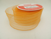 Orange and Yellow Pattern 3.8cm in. x 2.7m 100% Polyester CraftSmart Ribbon - Great for Easter Baskets!