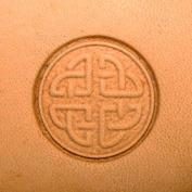 Round Celtic Leathercraft 3-D Stamp 8537-00