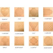 Celtic 3-D Leathercraft Stamp Set - Includes 12 Stamps & 1 Handle 8161-00