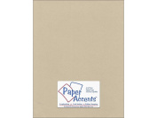 Accent Design Paper Accents ADP8511-25.8838 No.80 22cm x 28cm Taupe Paper Pearlized Card Stock