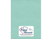 Accent Design Paper Accents ADP8511-25.8860 No.80 22cm x 28cm Frosted Teal Paper Pearlized Card Stock