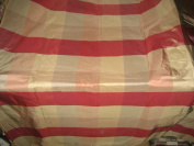 100% Pure Silk Taffeta Fabric Multi Colour drapery plaids