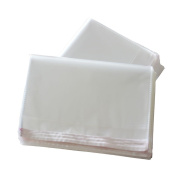 100PCS/200PCS 20cm X 25cm Flat Storage Bags Resealable Clear Cello/Cellophane Treat Bags with Adhesive Closure for Gift Basket Supplies