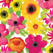 2 Sheet Rolls of Bloom Flowers Gift Wrap / Wrapping Paper