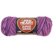 Yarn Red Heart Super Saver 0940 Plum Pudding 150ml - 141 g - 236 yards