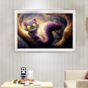 Mingo DIY 5D Diamond Embroidery Painting Cool Cat Cross Stitch Home Wall Decor