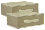 Essential Collapsible Storage Containers, Tan