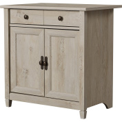 Standard Lemire Versatile Cabinet w/ Single Pull-Out Storage Drawer use in Bedroom, Entryway, Living Room, Distressed Finish w/ Interior Shelf & Brass Hardware 23cm H x 70cm W x 49cm D