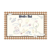 Paper Aeroplanes Personalised Kid's Colouring Placemats