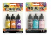 Adirondack Alcohol Ink Bundle Summit View & Retro Cafe Ink Set