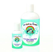 Gentle Hair & Body Wash with Lavender & Lime for Kids & Babies by Nabila K