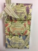 Nesti Dante Italian natural lavender soap set