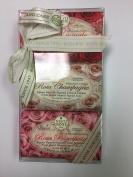 Nesti Dante Rosa 3 Piece Soap Set - 150g each