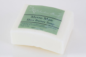 Celadon Road Metro Man Bar Soap - Organic and All Natural Ingredients and Essential Oils - Sulphate and Paraben Free - Best Men's Soap - 180ml - Made in USA