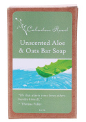 Celadon Road Unscented Aloe & Oats Bar Soap - Organic Nourishing Ingredients and Essential Oils -Safe Gentle and Non-toxic - 100ml - Made in USA