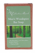 Celadon Road Men's Woodspice Bar Soap - Organic and All Natural Ingredients and Essential Oils - Sulphate and Paraben Free - Best Men's Soap - 100ml - Made in USA