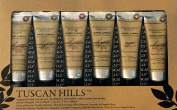 Tuscan Hills 5 Scented Hand Creams Collection Lotion Moisturiser Set Lavender, Vanilla, Coconut Hand Moisturiser TH-5