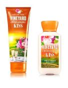 Bath & Body Works Vineyard Champage Kiss Body Cream & Lotion Set