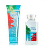 Bath & Body Works Pure Paradise Body Cream & Lotion Set