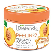 Juicy Peach Body Scrub 200g by Bielenda /Nourishing & Moisturising & Anti-Ageing /Improves Firmness & Elasticity, Actively Regenerates the Skin, Improves Mood & Positively Inspire