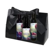Simply Radiant Beauty Organic Skin Care Bath & Body Valentines Gift Set- includes 60ml Mini Coconut Milk Lotion, Bubble Bath & Hand Sanitizer