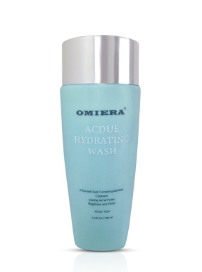 Omiera Labs Acdue Acne Scar Treatment Face Cleanser Wash, 120ml